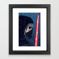 Kylo (Knight of Ren) Framed Art Print