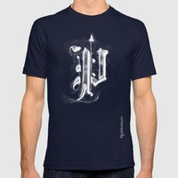 Pi Mens Fitted Tee Navy SMALL