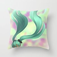 Append Throw Pillow