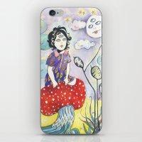 Enid On Acid iPhone & iPod Skin