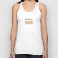 Pivot - Friends Tribute Unisex Tank Top