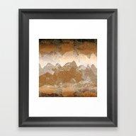 Asian Background Framed Art Print