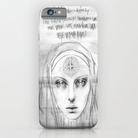 iPhone & iPod Case featuring St. Benedict Ghost by Casstronaut