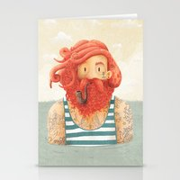 octopus Stationery Cards featuring Octopus by Seaside Spirit