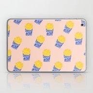 Floral Fries Laptop & iPad Skin
