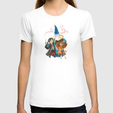 Harry Potter Hug Womens Fitted Tee White SMALL