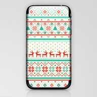Festive Fair Isle iPhone & iPod Skin