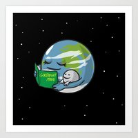 Goodnight Moon Art Print