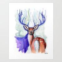 Trust Me, My Deer Art Print