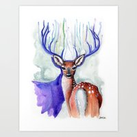 Trust Me, My Deer Art Print