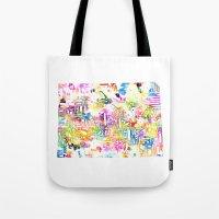 Typographic Colorado - M… Tote Bag