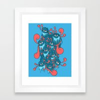 Of the Beholder Framed Art Print