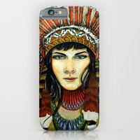 Indian Spirit Girl iPhone 6 Slim Case