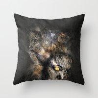 Broken Surface Throw Pillow