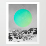 Middle Of Nowhere II Art Print