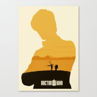 11th Doctor And The Impo… Canvas Print