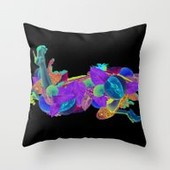 Candela Collage Throw Pillow