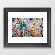 DON'T Framed Art Print