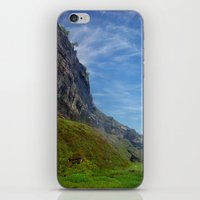 Misty Cliffs iPhone & iPod Skin