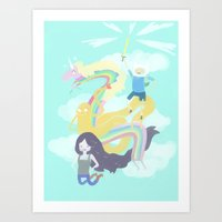 Time For An Adventure Art Print