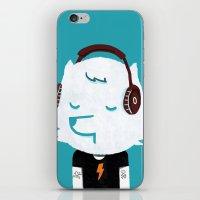 Metal Rock Dog iPhone & iPod Skin