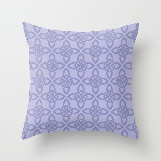 Northern Knot Pattern Throw Pillow