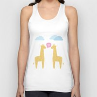 Spotty Giraffe Unisex Tank Top