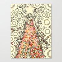 Christmas Joy -- Abstrac… Canvas Print