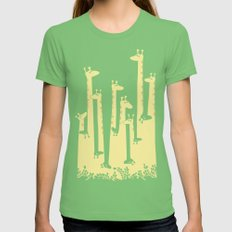 Such A Great Height Womens Fitted Tee Grass SMALL