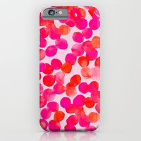 iPhone & iPod Case featuring Pink Spots by Jen Moules