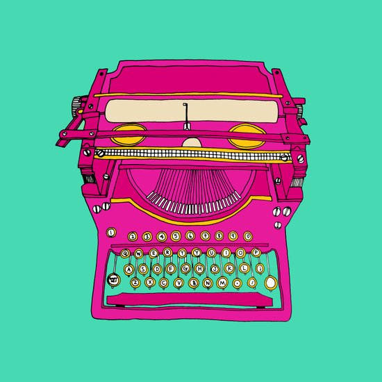Typewriting // Retro Art Print