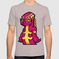 stripezilla Mens Fitted Tee Cinder SMALL