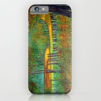 iPhone & iPod Case featuring Autumn reflection  by maggs326