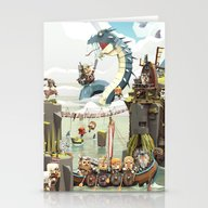 Viking Life Stationery Cards