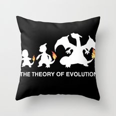 The Theory of Evolution  Throw Pillow