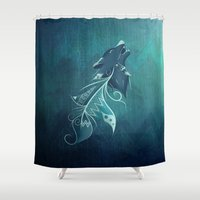Wolfeather Shower Curtain