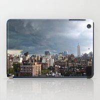 Taking The City By Storm iPad Case