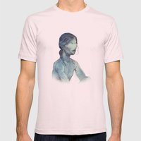 VACANCY Mens Fitted Tee Light Pink SMALL