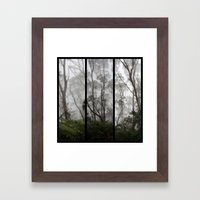 Forest - Triptych Framed Art Print