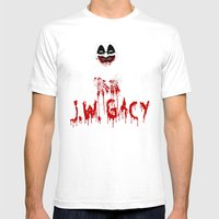 J.W. Gacy Mens Fitted Tee White SMALL