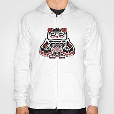 Owl, North-American art stylization Hoody