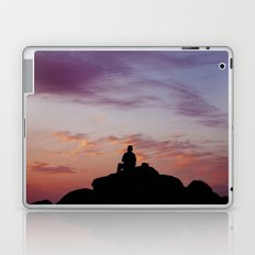 Man Enjoying Sunset II Laptop & iPad Skin