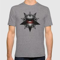 EVIL Mens Fitted Tee Tri-Grey SMALL