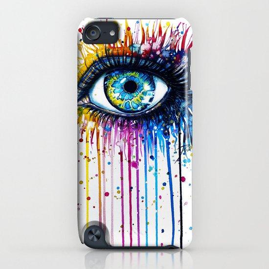 """Rainbow Eye"" iPhone & iPod Case"