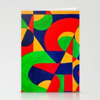 Formas # 3 Stationery Cards