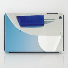 Santorini Blue & White Window iPad Case