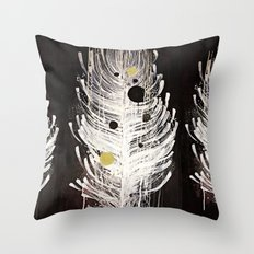 Feather Souls Throw Pillow