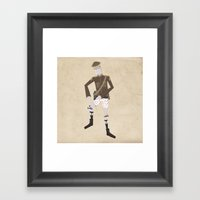 Timmy And His Performing… Framed Art Print
