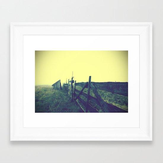 Retrospective Part 2: The Shepherd In The Fog Framed Art Print