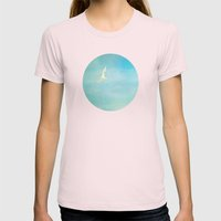 soar Womens Fitted Tee Light Pink SMALL
